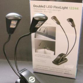 Double 2 LED FlexLight K&M 12244