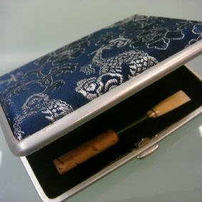 Reed Case Oboe  6.Rohre. Oboes