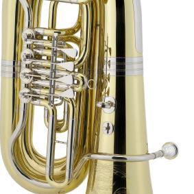 Tuba in B CERVENY Arion 4, Messing, lack. Ventile